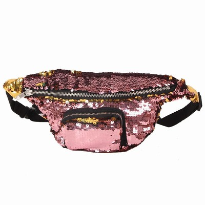 Sequin Belt Pack Gift For Women Bag Wholesale Wine Gold