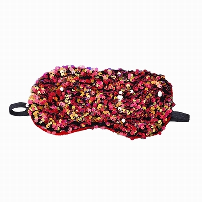 Crystal Sequin Eye Mask Amazing Gift Blindfold 10 Pack
