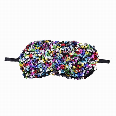 New Design Crystal Sequin Eye Mask Wholesale 10 Pack