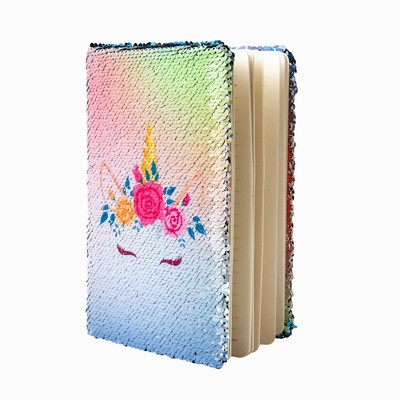 Professional Meeting Sequin Notebook Unicorn Bulk For Sale