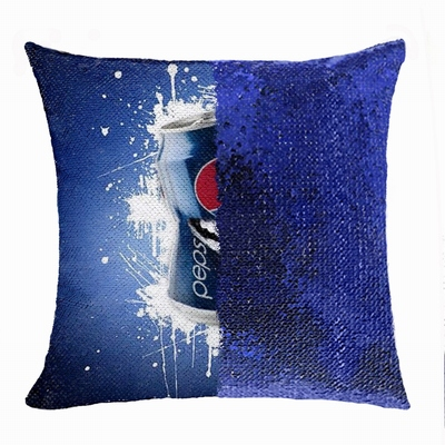 Perfect Personalized Image Flip Sequin Pillow Corporate Gift