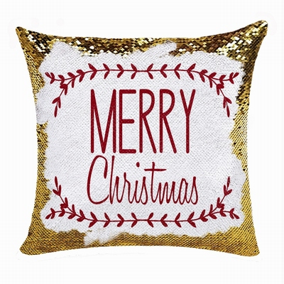 Christmas Personalized Special Gift Sequin Magic Pillow