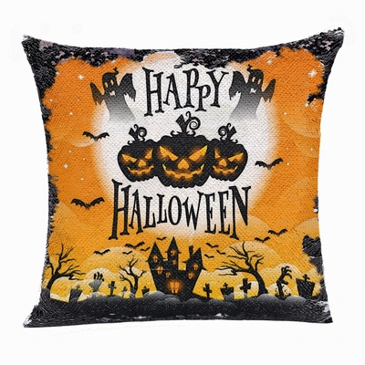 Happy Halloween Ghost Pumpkin Best Custom Present Pillow
