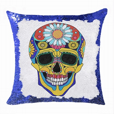 Skull Magic Cushion Cover Personalized Photo Gift Fashion