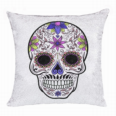 Skull Magic Pillow Top Present New Design Personalized Gift