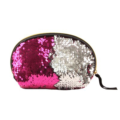 Sequin Seashell Clutch Bag In Bulk Pink Silver