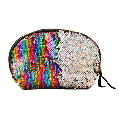 Bulk Shining Sequin Shell Clutch Purse Rainbow