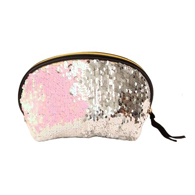 Fashion Shell Purse Global Distribution light Pink Silver