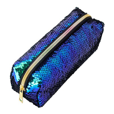 Sequin Pouch Pencil Case Box Pen Bag