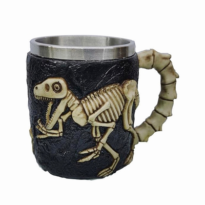 Dinosaur Skeleton Bone Mug Quality Gift
