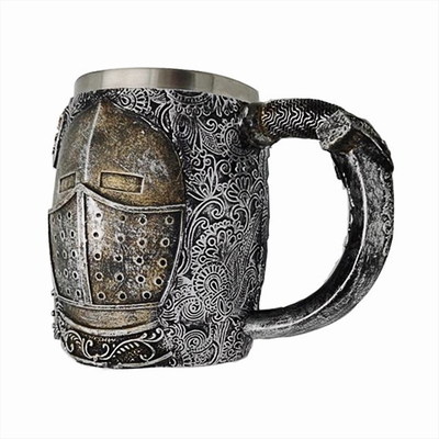 Medieval Head Armor Mug Cool Gift For Kid