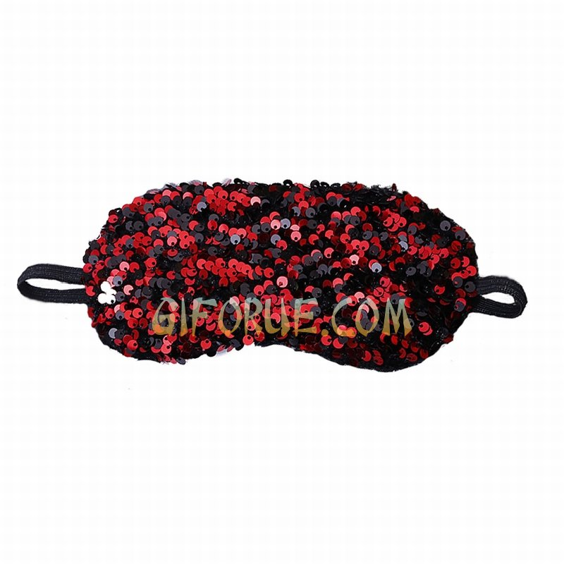 Crystal Sequin Blindfold Awesome Present 10 Pack - Click Image to Close