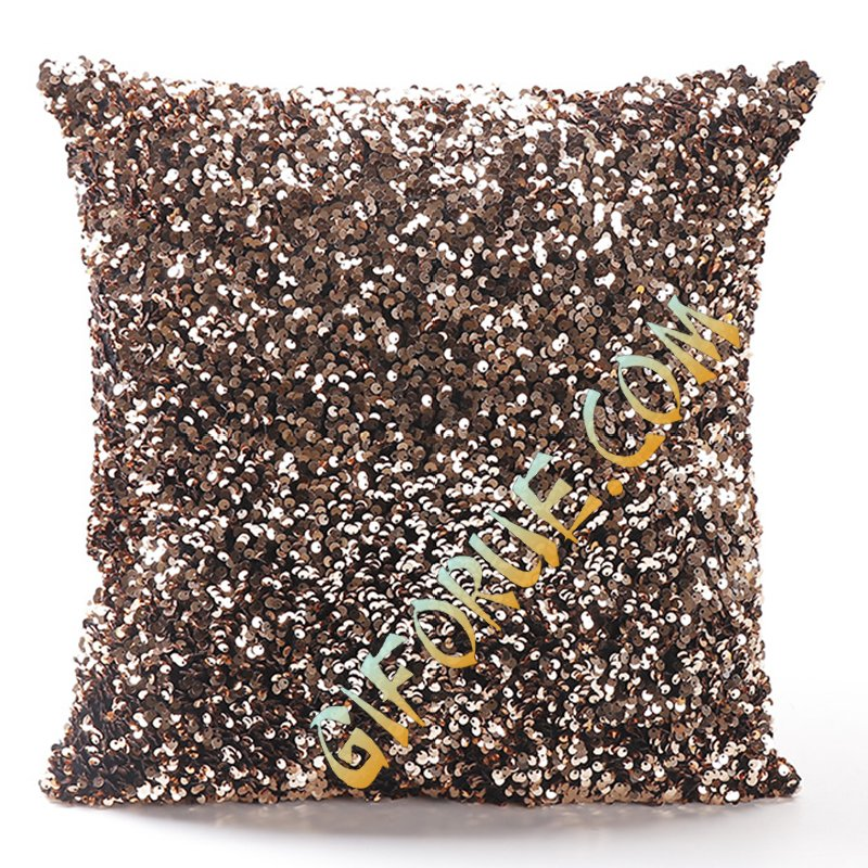 New Material Crystal Sequin Chshion Cover Unusual Gift - Click Image to Close