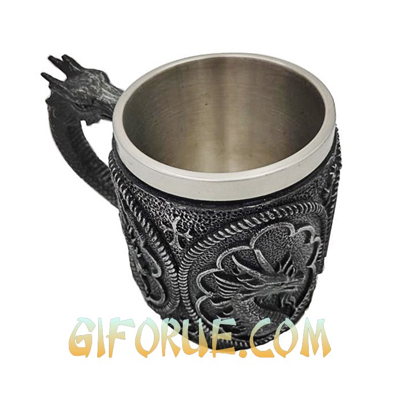 Dragon Cross Cup Best Halloween Gift Young Man - Click Image to Close