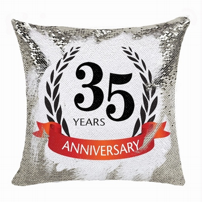 Popular Personalized Photo Sequin Magic Pillow Anniversary Gift