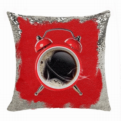 Unusual Gift Personalized Photo Sequin Pillow Promotion Products