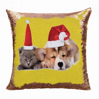 Christmas Cheap Custom Made Pet Photo Gift Magic Pillow