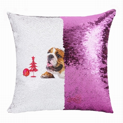 Personalized Christmas Handmade Unusual Gift Pet Photo Pillow